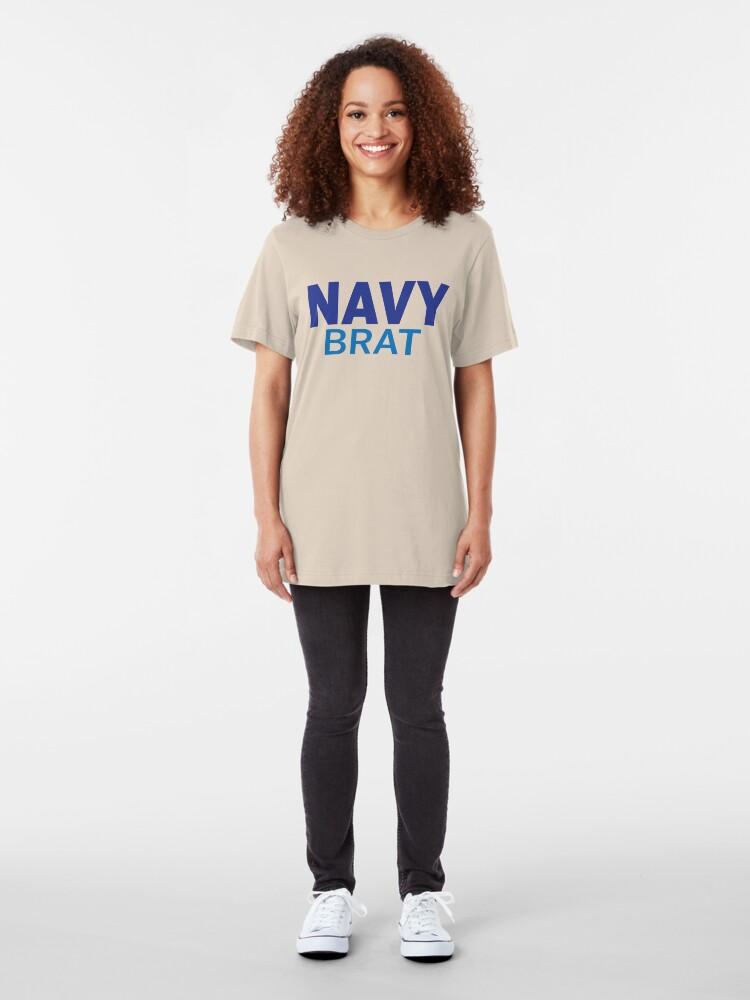 Alternate view of Navy Brat - Blues Slim Fit T-Shirt