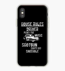 House Rules iPhone Case