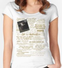 Captain Quotes Women's Fitted Scoop T-Shirt