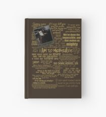 Captain Quotes Hardcover Journal