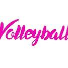 Volleyball Kursiv von maddy-drye