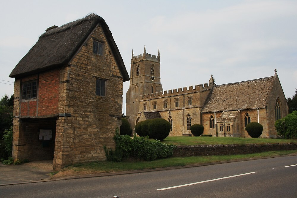 St Peter and St Paul, Long Compton by Dave Godden