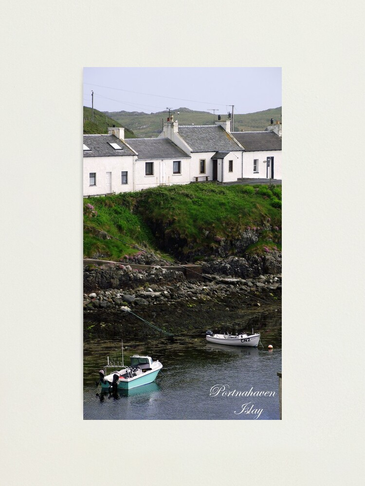 Alternate view of Portnahaven  Isle  of  Islay Photographic Print