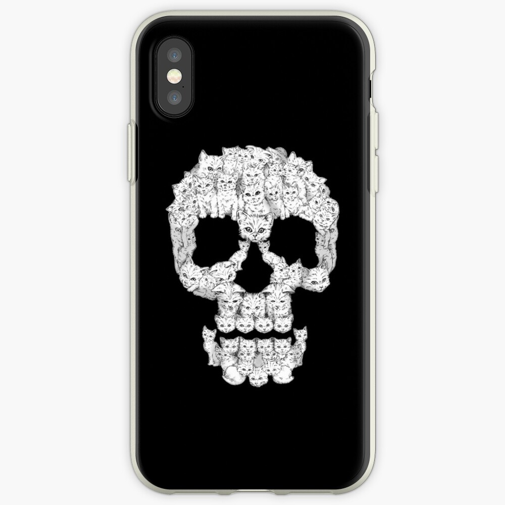 Skulls are for Pussies iPhone Case & Cover