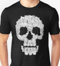 Camiseta unisex Skulls are for Pussies