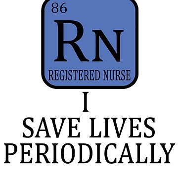 Rn Registered Nurse Novelty Gifts. by chumi