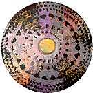 Spinning Gears Mandala  by EmilySutin
