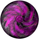 Purple Fusion Mandala  by EmilySutin