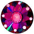 Shiny Flower Mandala  by EmilySutin