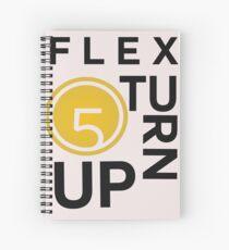 Cuaderno de espiral Flex Turn Up (solicitado)