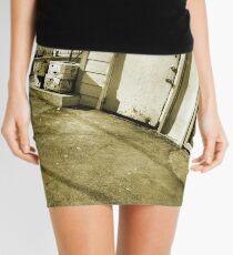 Back Doors Urban Art Early Spring Mini Skirt