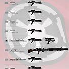 Imperial Blasters by nothinguntried