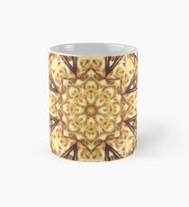 Gold Rush Mandala - Golden Ornate Art Deco Design Mug