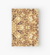 Gold Rush Mandala - Golden Ornate Art Deco Design Hardcover Journal