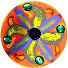 Pinwheel Mandala  by EmilySutin