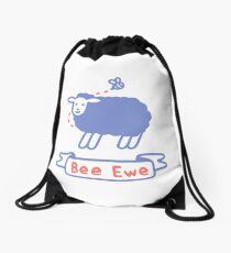 Bee Ewe Drawstring Bag