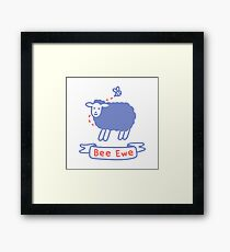 Bee Ewe Framed Print