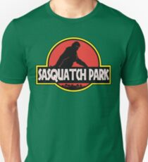 Sasquatch Park Bigfoot Parody T Shirt T-Shirt