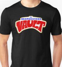 The Motocross Vault White interior Slim Fit T-Shirt
