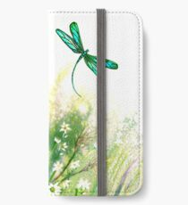 Daisies and Dragonfly iPhone Wallet/Case/Skin