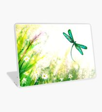 Daisies and Dragonfly Laptop Skin