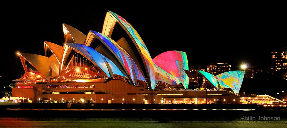 Vivid Sydney #4 - Sydney Opera House - The HDR Experience by Philip Johnson