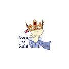Born to Rule!-Baby Boy/Union Jack by artgoddess