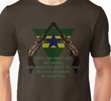 Browncoat Creed Unisex T-Shirt