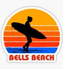 Bells Beach Surfer Girl Sun Sticker