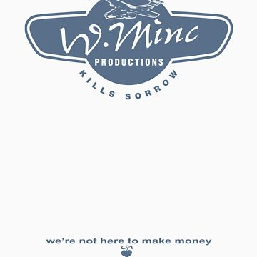 W. Minc Productions - blue logo with text by grambram