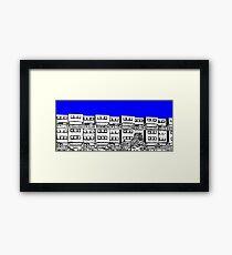 Ashfield Valley Flats, Rochdale Framed Print
