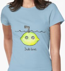 Sub-lime Women's Fitted T-Shirt