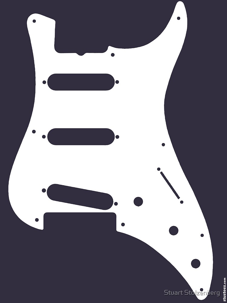Guitar Body by stuartist