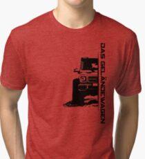Das Geländewagen (6x6) Tri-blend T-Shirt