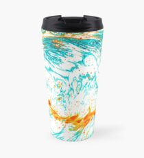 Waves of Thought #abtsract #painting  Travel Mug