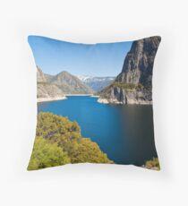 Hetch Hetchy Reservoir Throw Pillow