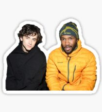 frank ocean and timothee chalamet Sticker