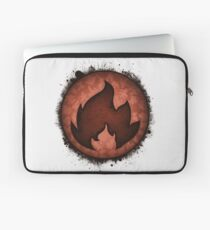 The Fire Types Laptop Sleeve