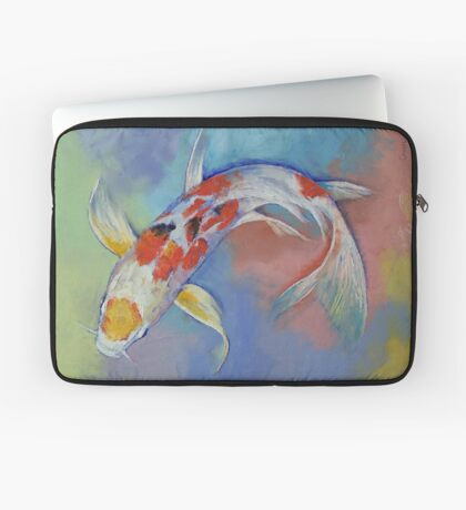 Butterfly Koi Fish Laptop Sleeve