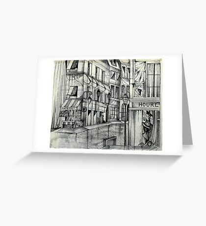 Lonely In Paris Greeting Card
