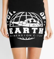 Earth Dimension C-137 Mini Skirt