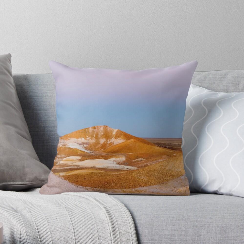Breakaways at dusk Throw Pillow