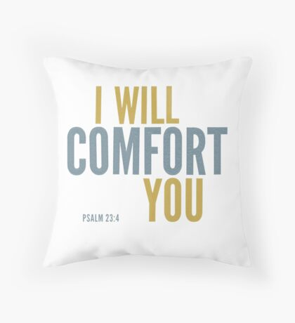 I will comfort you - Psalm 23 Floor Pillow