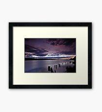 """""""April Sunrise"""" colour Framed Print"""