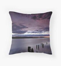 """""""April Sunrise"""" colour Throw Pillow"""