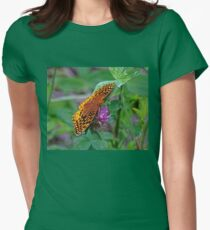 Lepidoptera Womens Fitted T-Shirt