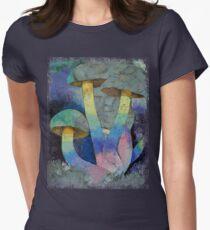 Magic Mushrooms Women's Fitted T-Shirt