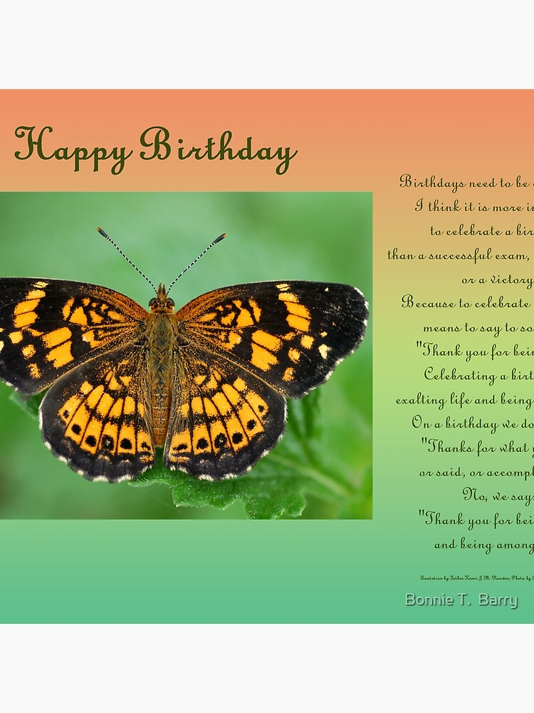 Happy Birthday Greeting Card | Tote Bag