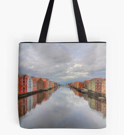 Trondheim - Nidelva Tote Bag