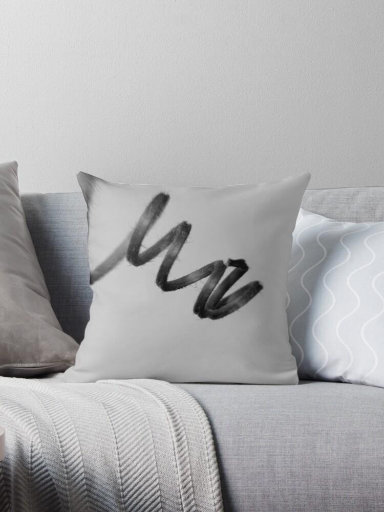 'Unwind' Throw Pillow by Dr  Sandeep Jain